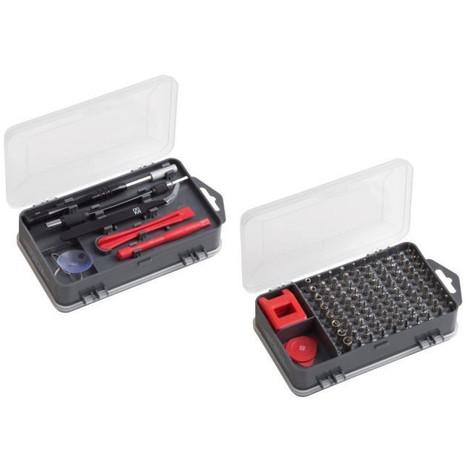 MEISTER Kit outils de précision et de sécurité 108 pieces