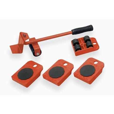 Meister Werkzeuge 419900 Carrello portatutto Acciaio Capacità di carico (max.): 150 kg