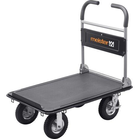 Meister Werkzeuge 8985700 Carrello con pianale pieghevole Acciaio Capacità di carico (max.): 300 kg