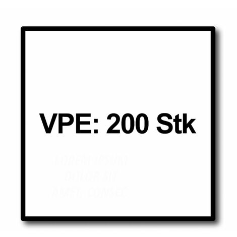 Meisterling Vis de terrasse 5x40 mm - 200 pièces (010010000001) CUT point 90 ° tête fraisée à tête fraisée avec Torx 2/3 gros filetage VA acier inoxydable