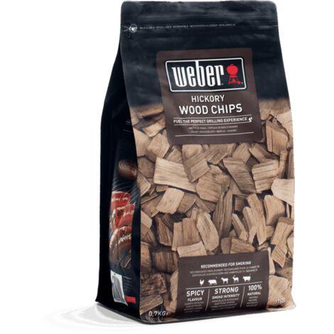 Mélange de copeaux de bois WEBER - Hickory - 0,7kg