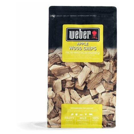 Mélange de copeaux de bois WEBER - Pommier - 0,7kg