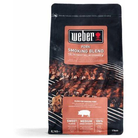 Mélange de copeaux de bois WEBER - spécial porc - 0,7kg