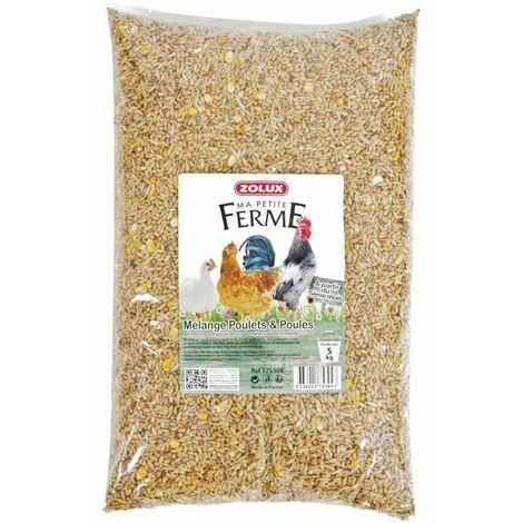 Mélange de graines pour poulets et poules 5 kg