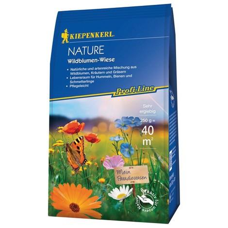 Mélange naturel et diversifié de fleurs sauvages 250g Profi-Line Nature