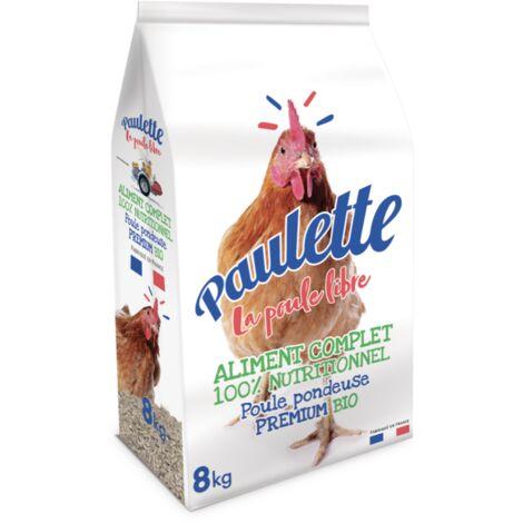 Mélange pour poule multi-céréales Bio 8 kg - Paulette