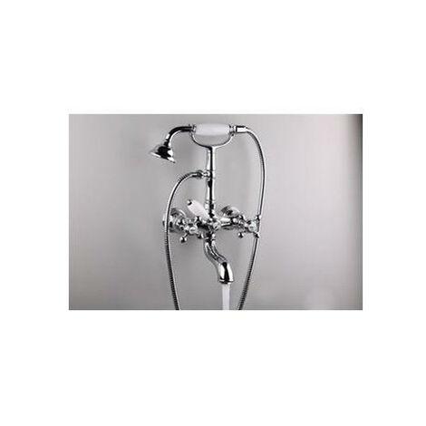 Mélangeur chromé bain-douche RETRO PARIGI - CRISTINA ONDYNA PG10251
