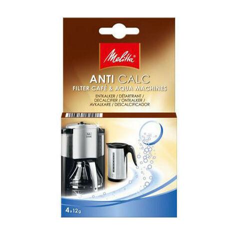 Melitta Filtre Anti Calcaire Machines Caf ' Aqua - 4 Pastilles