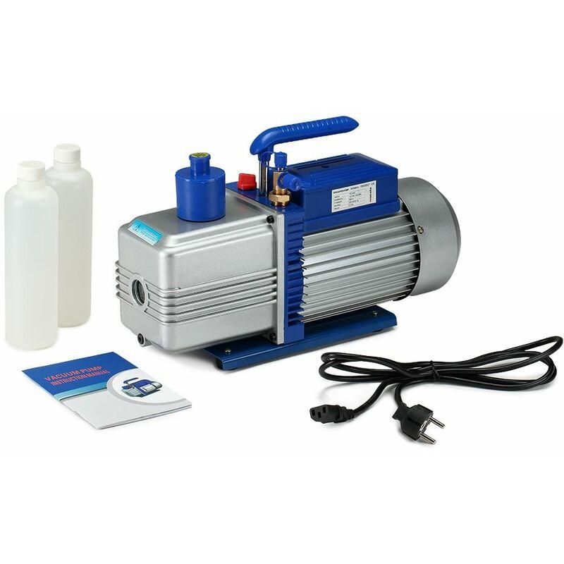Pompa a vuoto in alluminio a 2 stadi 284L/min Compressore aria condizionata Pompa in alluminio Corpo pomp