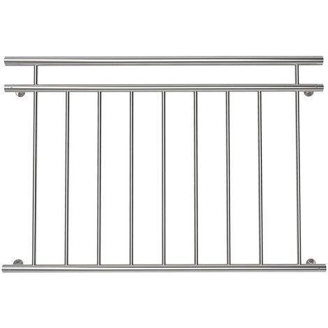 Melko balcony balustrade railing 90x128CM window balustrades exterior terrace balustrade stainless steel V2A railing