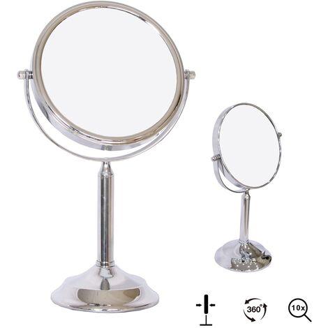 Melko cosmetic mirror 10-fold make-up mirror makeup mirror bathroom mirror