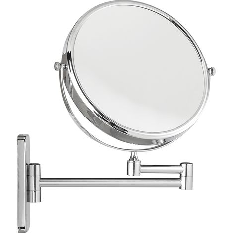 Melko cosmetic mirror 10-fold wall mirror make-up mirror magnifying bathroom mirror 20cm