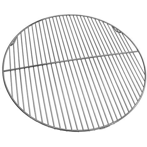 Grille ronde en acier galvanisé diamètre 90 cm avec grille