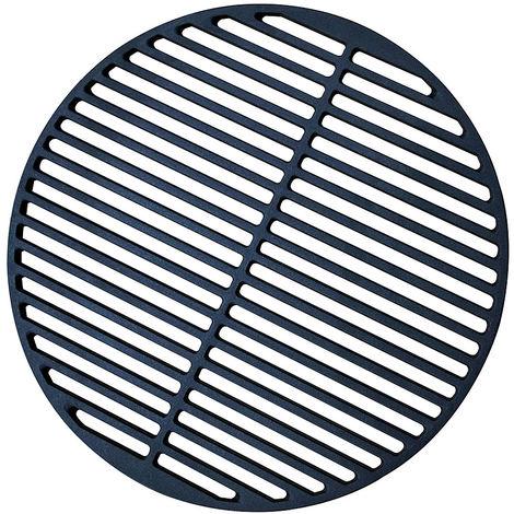 Melko Grille Grille en fonte émaillée Grille à boules Ø 45 Plaque de gril Grille ronde en fonte Grilles de gril Bols de gril