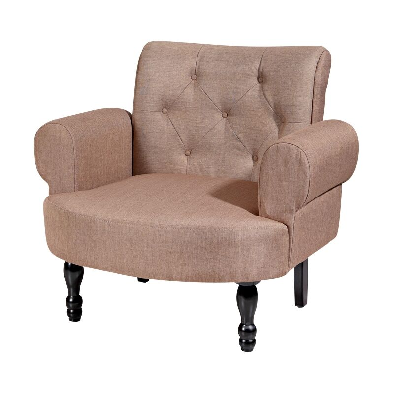 Polstersessel Braun Barock Relaxsessel Loungesessel Fernsehsessel Sessel ?? - Melko