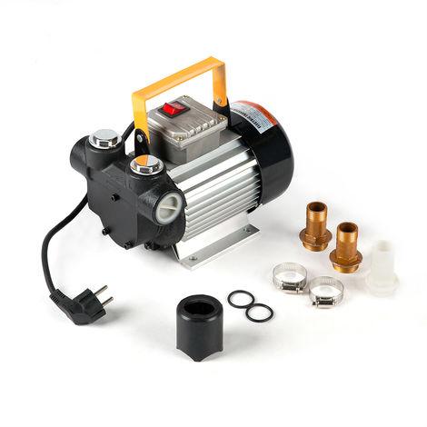 Melko Pompe diesel 60L/min pompe à mazout auto-amorçante pompe d'aspiration de mazout 230V
