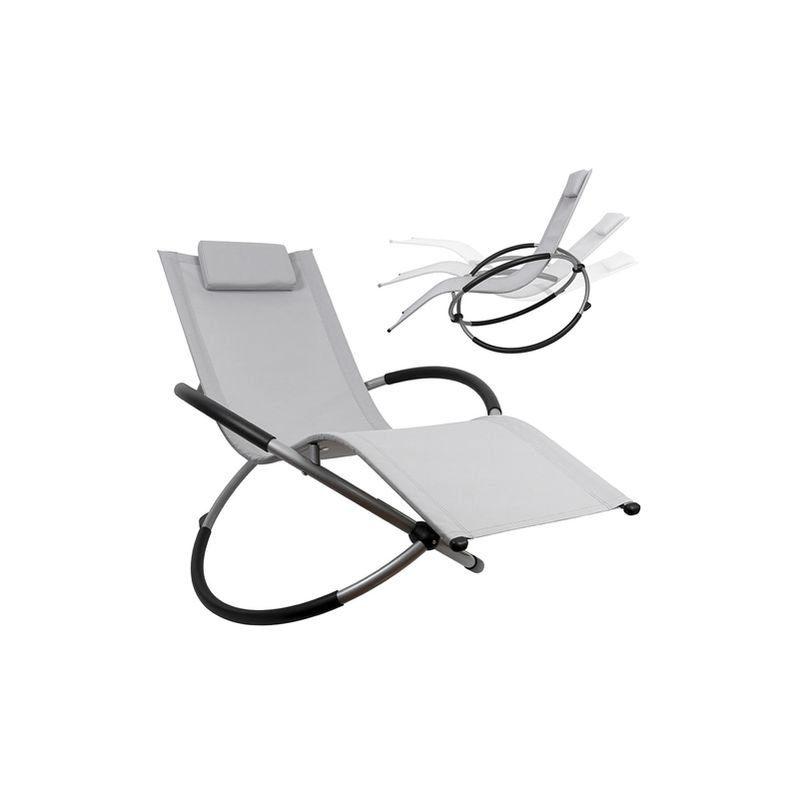 Rocking Lounger chaise longue pliable chaise longue de jardin chaise longue relax chaise longue de plage chaise longue à bascule balcon chaise longue