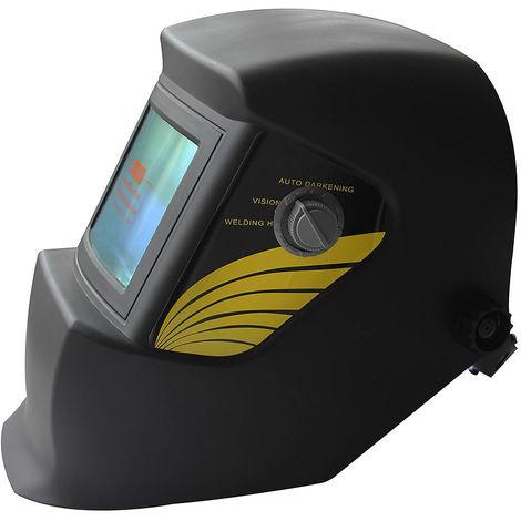 Melko welding helmet/solar automatic welding mask/welding shield, 1/10.000 seconds, field of view: 92,5 x 42,5 mm