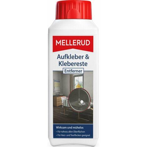 Mellerud Aufkleber & Klebereste Entferner 250 ml löst stark haftende Klebereste