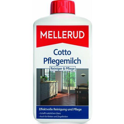 Mellerud Cotto Pflegemilch Terracotta Tonplatten Reiniger 1 Liter