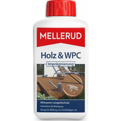Mellerud Holz und WPC Imprägnierung WPC/BPC Oberflächen Langzeitschutz, 500 ml
