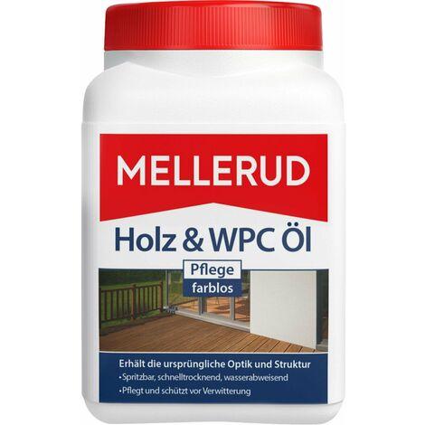 Mellerud Holz und WPC Pflege Öl farblos 750 ml