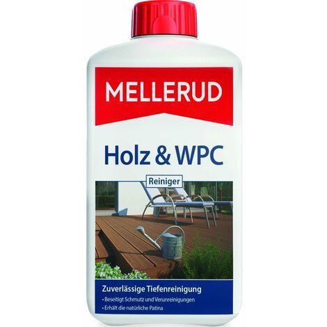 Mellerud Holz und WPC Reiniger BPC Holz-Kunststoff-Verbundwerkstoffe, 1 Liter