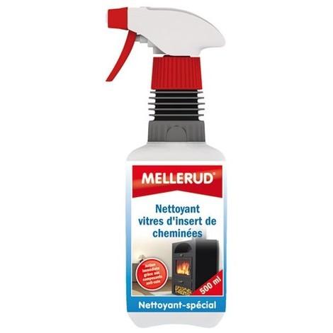 MELLERUD - Nettoyant pour vitres d'insert cheminée