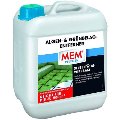 MEM Algen- und Grünbelag Entferner 5 Ltr