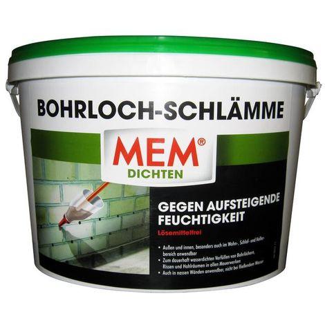 MEM Bauchemie Bohrloch - Schlämme zur Abdichtung 2,5 kg
