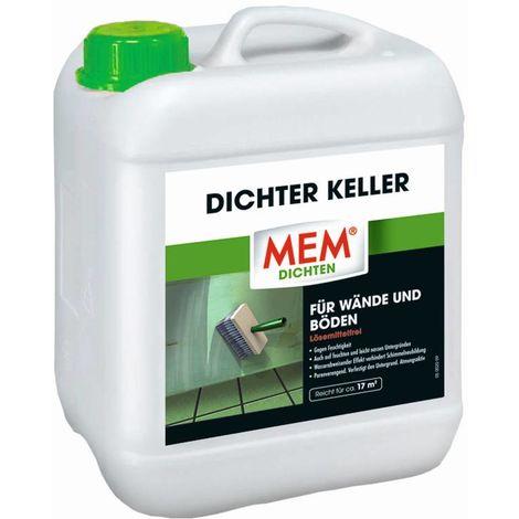 MEM Bauchemie Imprägnierung, Dichter Keller, 5 Liter