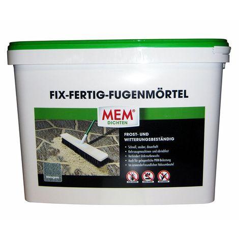 MEM Fix Fertig Fugenmörtel Steingrau 25 Kg