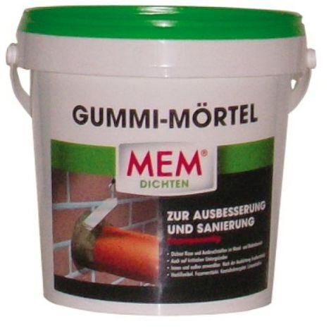 MEM Gummimörtel 2-komponentige Dichtmasse
