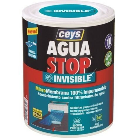 Membrana imperm. 1 lt tra int/ext aguastop invisible ceys