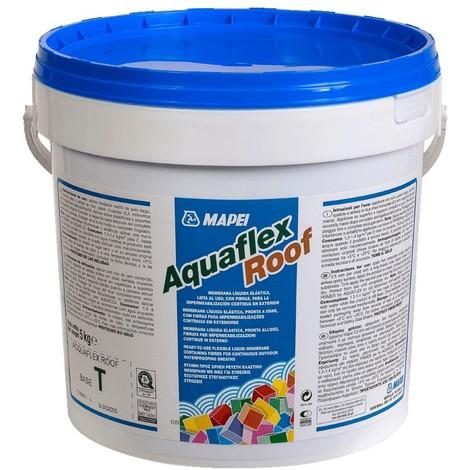 Membrana liquida per impermeabilizzazione in esterno 5kg for Guaina liquida mapei