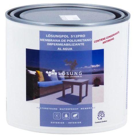Membrana Poliuretano al Agua 512 Pro Lösung