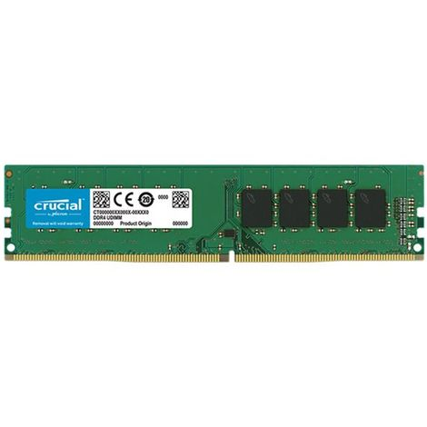 Memoria ddr4 8gb crucial dimm 2666