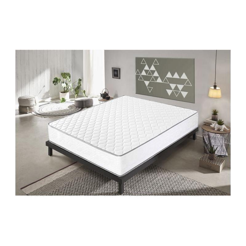 Memory Foam Matratze - 120x190 - 21 cm hoch - 11 differenzierte Bereiche - Orthop�die - Hohe Dichte - - MATERASSIEDOGHE