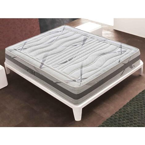 Memory Foam Matratze - 22 cm hoch - 3 cm Memory Foam - 13 Komfortzonen
