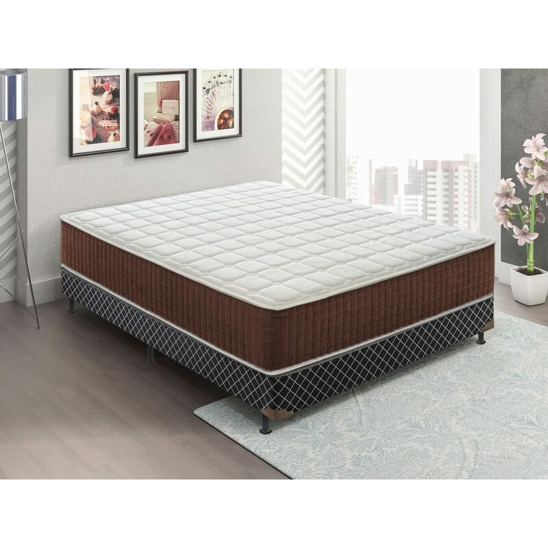 Materassiedoghe - Memory Foam Matratze - 28 cm hoch - 5 cm Memory Foam - 13 Komfortzonen - 90x190