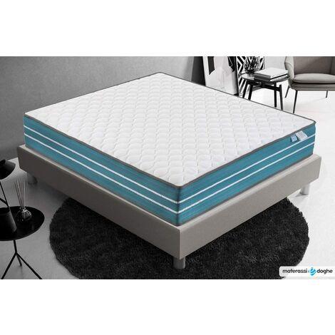 Memory Foam Matratze - Höhe 23 cm - 4 cm Erfrischender Memory Foam