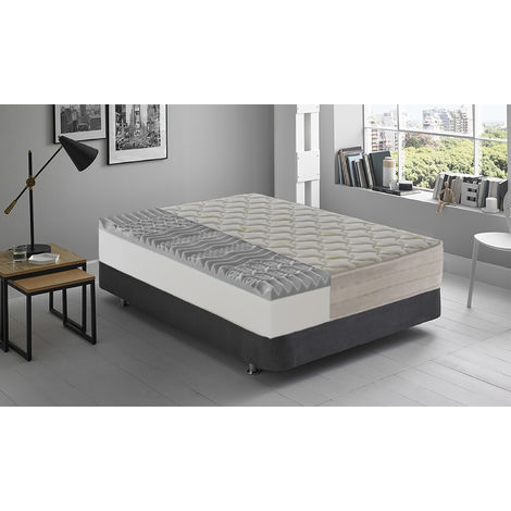 Memory foam mattress 9 comfort zones – Depth 25 cm