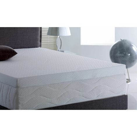 Memory Foam Mattress Topper 5000, 2 inch - Without Cover, 4FT Small Double