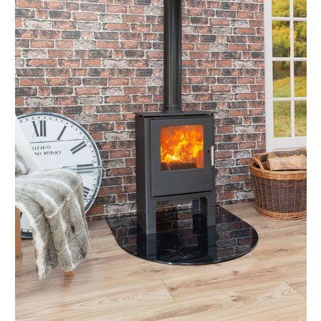 Mendip Loxton 5SE Logstore Defra Approved Wood Burning / Multi Fuel Stove