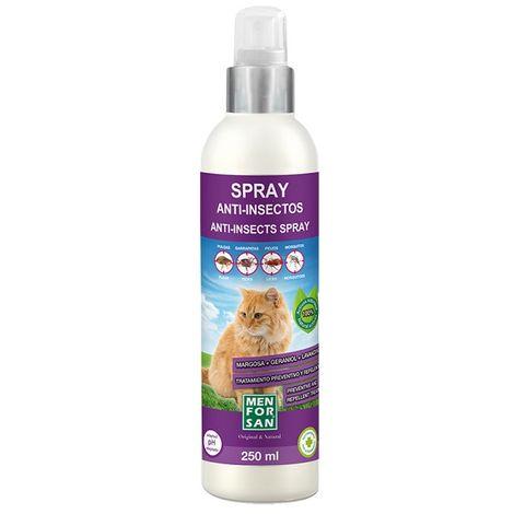 Menforsan Spray Anti-insectos Para Gatos 250ml