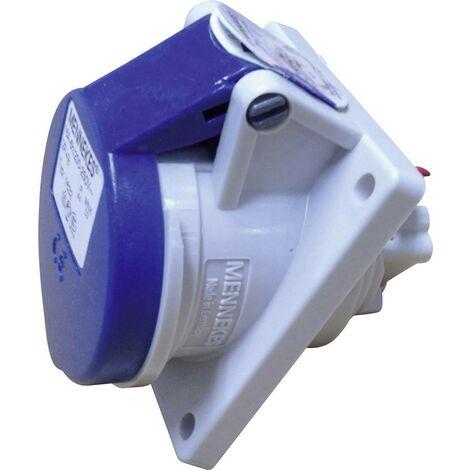SIROX PCE CEE Stecker Kupplung 24V IP44 2-polig 1 h 16A grau violett