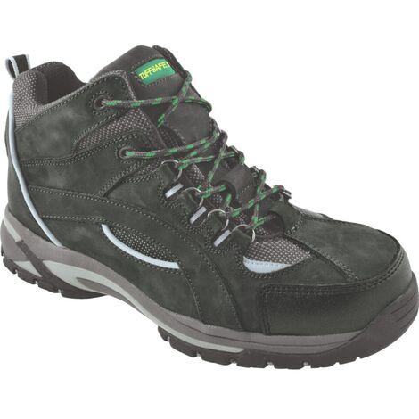 Men's Black Hiker Safety Boots