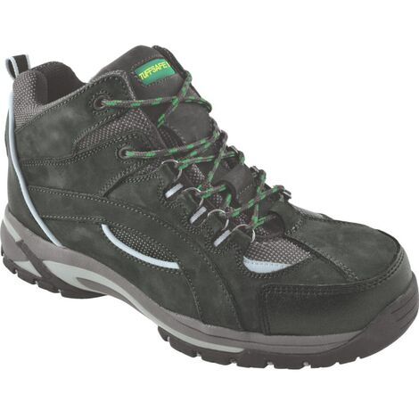 Men's Black Hiker Safety Boots