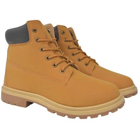 Men's Boots Camel Size 7.5