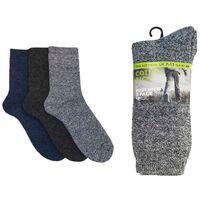 Mens Cotton Rich Boot Socks - Pack 3 - UK 7-11